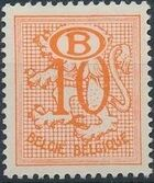 Belgium 1952 Official Stamps (Heraldic Lion with Numeral and B in oval) a