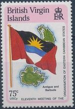 British Virgin Islands 1987 11th Meeting of the Organization of Eastern Caribbean States g