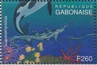Gabon 1995 Prehistoric Wildlife zh