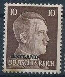 German Occupation-Russia Ostland 1941 Stamps of German Reich Overprinted in Black g