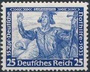 Germany-Third Reich 1933 German Emergency Relief h