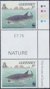 Guernsey 1990 WWF Marine Life m