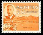 Mauritius 1950 Definitives m