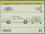 Nevis 1985 Leaders of the World - Auto 100 (3rd Group) w