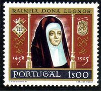 Portugal 1958 500th anniversary of the birth of Queen Saint Leonor a