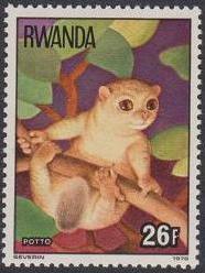 Rwanda 1978 Apes f