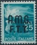 Trieste-Zone A 1947 Democracy (Italy Postage Stamps of 1945 Overprinted) a