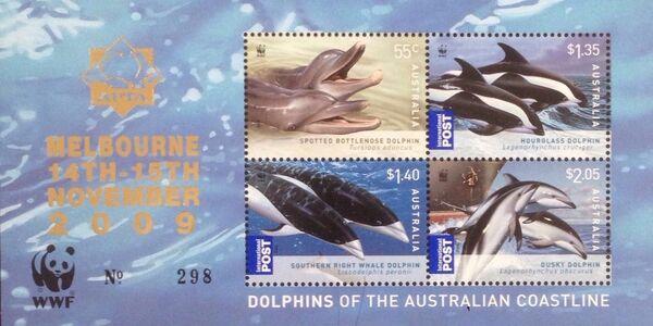 Australia 2009 WWF - Dolphins of the Australian Coastline SSc