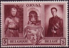 Belgium 1939 Restoration of Orval Abbey f