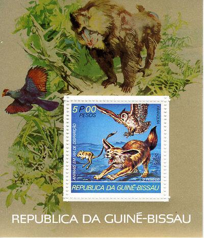 Guinea-Bissau 1978 Endangered Species j