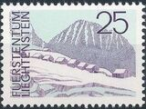 Liechtenstein 1973 Landscapes k
