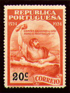 Portugal 1924 400th Birth Anniversary of Camões j