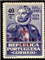 Portugal 1928 Red Cross - 400th Birth Anniversary of Camões d