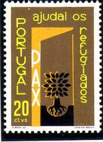 Portugal 1960 International Year of Refugees a