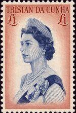 Tristan da Cunha 1967 Queen Elizabeth II and Ships c