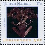 United Nations-New York 2003 Indigenous Art c