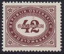 Austria 1947 Postage Due Stamps - Type 1894-1895 with 'Republik Osterreich' q