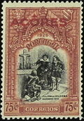 Azores 1926 1st Independence Issue Overprinted l