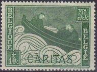 Belgium 1927 Anti Tuberculosis - Boat Adrift b