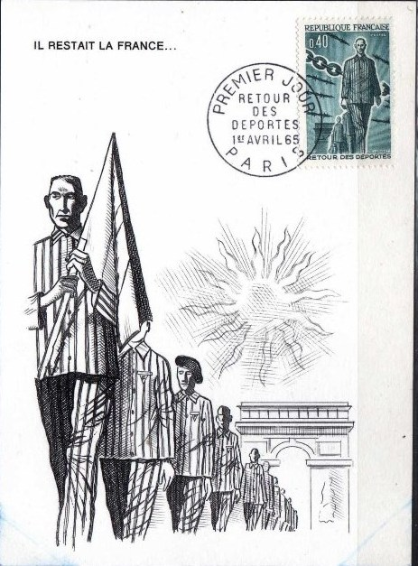 France 1965 20th Anniversary of the Return of Deportees MCa