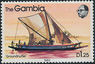 Gambia 1983 River Boats m