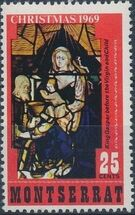 Montserrat 1969 Christmas b