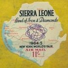 Sierra Leone 1964 New York World's Fair - Air Post Stamps g