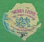 Sierra Leone 1964 New York World's Fair - Regular Stamps b