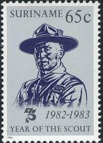 Surinam 1983 75 Years Of Scouting b