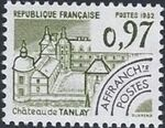 France 1982 Historic Monuments - Pre-cancelled (4th Issue) a