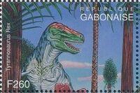 Gabon 1995 Prehistoric Wildlife y