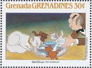 Grenada Grenadines 1988 The Disney Animal Stories in Postage Stamps 6c