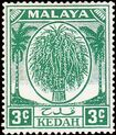 Malaya-Kedah 1950 Definitives c