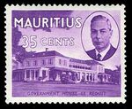 Mauritius 1950 Definitives j