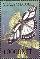 Mozambique 2002 Butterflies m