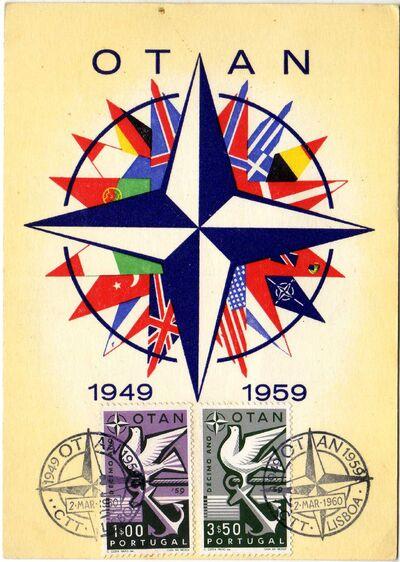 Portugal 1960 10th Anniversary of NATO MCa