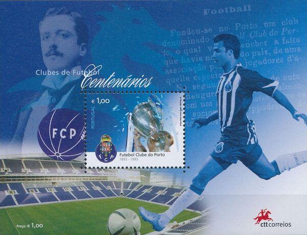 Portugal 2005 Centennial football clubs h
