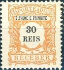 St Thomas and Prince 1904 Postage Due Stamps (S.THOMÉ) d
