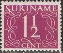 Surinam 1948 Numerals b