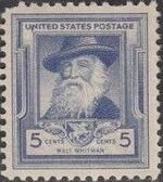 United States of America 1940 Famous Americans - Poets d