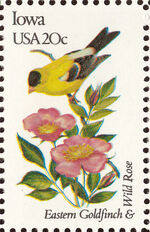United States of America 1982 State birds and flowers n