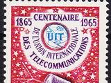 Andorra-French 1965 ITU Centenary