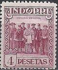 Andorra-Spanish 1929 Local Motifs k