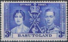 Basutoland 1937 George VI Coronation c
