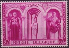 Belgium 1939 Restoration of Orval Abbey e