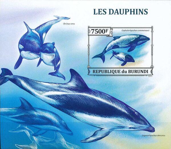 Burundi 2013 Dolphins d