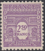 France 1944 Arc of the Triomphe - Allied Military Government g