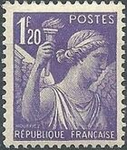 France 1944 Iris (3rd Group) c