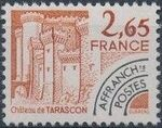 France 1980 Historic Monuments - Pre-cancelled (2nd Issue) c