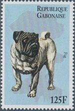 "Gabon 1996 ""China '96"" Philatelic Exhibition - Dogs f"